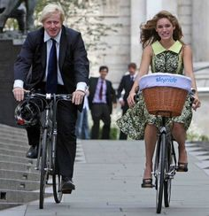 Kelly Brook and Boris Johnson make it look easy, however, riding a bike is quite complicated. It's taken scientists years to devise a scientific equation [31 numbers and symbols + 9 pairs of brackets] stating that, if you don't pedal fast enough, you'll fall over
