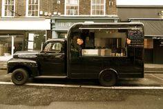 rainbo food van