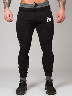 Stylish Mens Outfits, Sporty Outfits, Fashion Outfits, Harem Pants Fashion, Moda Formal, Gym Outfit Men, Jogger Pants, Joggers, Tactical Pants