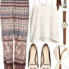 Love the bohemian style pant