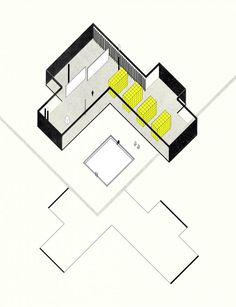 Interior axonometric