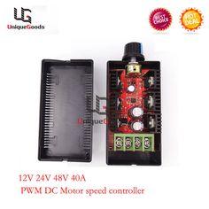 10V-30V 24V Wide Range 3A 120W DC Motor Speed Control PWM HHO RC Controller