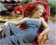 SWAN LAKE: VLADIMIR VOLEGOV - Russian Figurative Painter