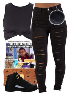 """Untitled #120"" by daijahhill25 ❤ liked on Polyvore featuring NIKE"