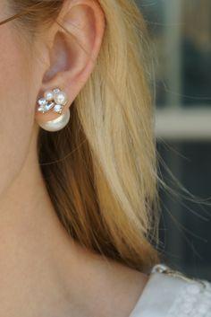 Double sided earring
