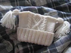 Baby Aran Bodysuit, Hat & Booties Knitting pattern by Eileen Casey Arm Knitting, Baby Knitting Patterns, Hat Patterns, Baby Boy Hats, Old Sweater, Paintbox Yarn, Knit Picks, Baby Sweaters, Knitted Hats