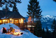 Christmas in Montana - I see absolutely no reason not to spend a Christmas here someday.