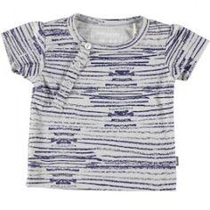 T-shirt manches courtes - Bleu foncé