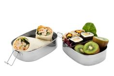 The Seed & Sprout Stacker - 3 compartment steel bento box • We care about the planet • eco-friendly • sustainable • ethical living | SeedandSprout.co
