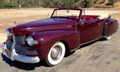 1942 Lincoln V-12 Continental Convertible