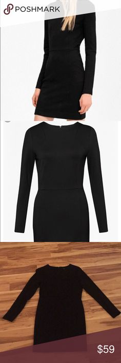 French Connection Luna Stretch Sheath NWT - Form fitting and figure flattering, this dress is sexy without revealing too much. Elasticity keeps everything where you want it to be. Stock photos included for fit. No trades, sales only please. French Connection Dresses Mini