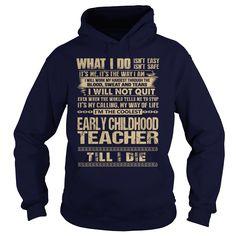 (Top Tshirt Deals) Awesome Tee For Early Childhood Teacher [TShirt 2016] Hoodies, Funny Tee Shirts