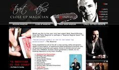 Stuart Watkins; specialist close up, table and mind magician for social and corporate events. http://www.stuartwatkins.co.uk/