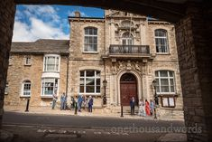 Swanage Town Hall wedding venue in Dorset photographed with wedding guests by one thousand words wedding photographer Corfe Castle, Town Hall, Wedding Venues, Mansions, House Styles, Wedding Reception Venues, Wedding Places, Manor Houses, Villas