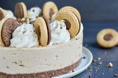 CakeByMary - No-bake Ballerinacheesecake Cheesecake, March, Desserts, Food, Tailgate Desserts, Deserts, Cheesecakes, Essen, Postres