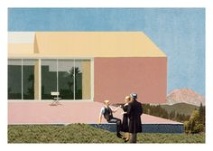Villa S, Esserts-sur-Salève, France, 2010 by simon bidal, via Behance