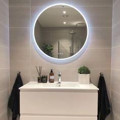 Bathroom Lighting, Mirror, Furniture, Home Decor, Bathroom Light Fittings, Bathroom Vanity Lighting, Interior Design, Home Interior Design, Arredamento
