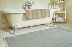 Plastic rugs - Herringbone Rugs by Weaver Green