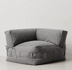 Cargo Lounge Corner Chair from RH Teen                                                                                                                                                                                 More