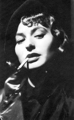 """Be yourself. The world worships the original."" Ingrid Bergman (I Always Loved Her Eyes)"
