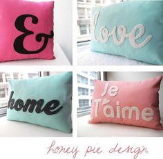 Cutie cute pillows