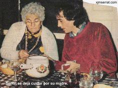 Serrat y su madre