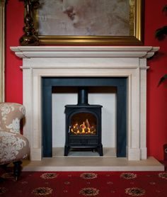 This little multi-fuel stove is an all time classic. Hand-built in Lancashire using the finest cast iron, this stove will last for years. Useful 5 kW output and a flue less gas version is an option.