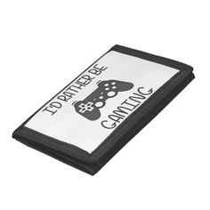 I'd Rather Be Video Gaming Tri-fold Wallet