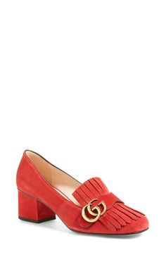 Gucci 'Marmont' Pump (Women) available at #Nordstrom