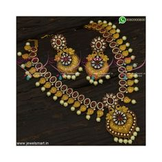 Gold Haram Designs, American Diamond Jewellery, More And Less, Antique Necklace, Ruby Stone, Copper And Brass, Big Earrings, Gold Price, Gold Plated Necklace