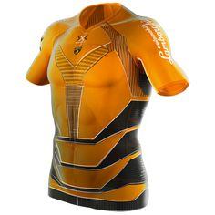 X-Bionic Twyce Bib Pantalon de Cyclisme Long pour Homme