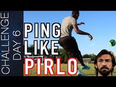 This video breaks down 3 tutorials in order for you to ping like Pirlo. Football Training Program, Soccer Training Drills, Soccer Drills, Training Programs, Challenges, Hacks, Sports, Youtube, Top