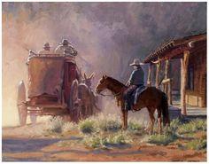 Buck Taylor Paintings | S H E I L A C O T T R E L L