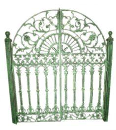 Cast Iron Gates.