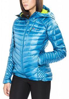 Berghaus Outdoorjacke »Extrem Micro Down Jacket Women« für 280,00€. Modelljahr 2016, helmkompatible und vollseinstellbare Kapuze bei OTTO