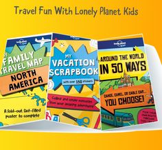 Take a tour of the world courtesy of Lonely Planet Kids. Check out our roundup of recommended books for family vacation (or armchair traveling) fun! They also make great gifts. #familyvacation  #familytravel #geography #TravelTuesday #wanderlust #juvenilenonfiction #travellove #activitybooks  wp.me/p3X25n-7CH