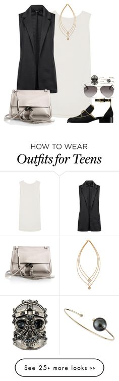 """""""Untitled #504"""" by malurodz on Polyvore featuring Kenzo, Chanel, Gucci, Tory Burch, Alexander McQueen, Victoria Beckham and mizuki"""