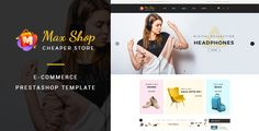 Maxshop - Responsive eCommerce Prestashop Theme . Maxshop has features such as High Resolution: Yes, Compatible Browsers: IE9, IE10, IE11, Firefox, Safari, Opera, Chrome, Edge, Compatible With: AngularJS, AngularJS 2, Bootstrap 3.x, Software Version: PrestaShop 1.6.1.x, PrestaShop 1.6.1, PrestaShop 1.6.0.x, PrestaShop 1.5.6, PrestaShop 1.5.5, PrestaShop 1.5.4, PrestaShop 1.5.3, PrestaShop 1.5.2, PrestaShop 1.5.1, PrestaShop 1.5.0, Columns: 3