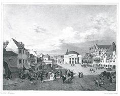 Gdańsk, Targ Węglowy, 1832 rok