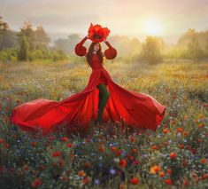 Lady Poppy Artistic Portrait Photography, Lady In Red, Ukraine, Poppies, Disney Characters, Fictional Characters, Beautiful Pictures, Interview, Photo And Video