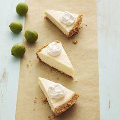 White Chocolate-Mascarpone Key Lime Pie