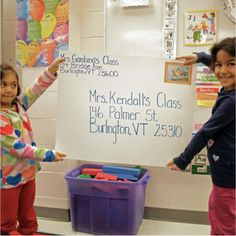 "INSTRUCTION:""Classroom Post Office"" - this is a great idea to teach children concepts of print! Children write letters to a neighboring class. This activity is both motivating and purposeful for students! Literacy Skills, Writing Skills, Student Learning, Kids Learning, Teaching Genre, Concepts Of Print, Kids Writing, Writing Letters, Intrinsic Motivation"