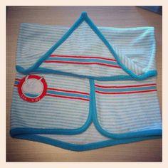 Esta capa de bany per a Miquel Robert, és de quan jo era petita. :)