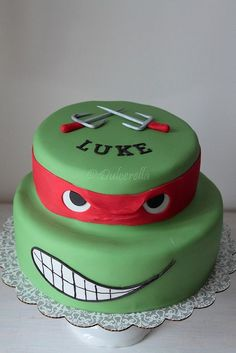Turtle Ninja Cake | Flickr - Photo Sharing!