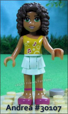 Andrea from LEGO Friends Set #30107