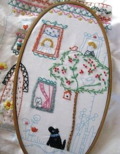 Embroidery by Charlotte Lyons