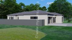 4 Bedroom House Plan – My Building Plans South Africa 4 Bedroom House Plans, Family House Plans, Cottage House Plans, Craftsman House Plans, Contemporary House Plans, Modern House Plans, My Building, Building Plans, Free House Plans