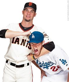 Kershaw's matchups with Lincecum in 2011 were the stuff of legends, but he came out on top.  In 2012 the matchups were mostly between Kershaw and Vogelsong, with Vogelsong having the upper hand.