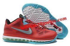 Nike Zoom LeBron 9 Low Red/Black