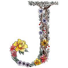 Botanical Letter Tutorial